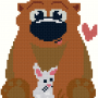 Bear and Bunny Virtual Stitches