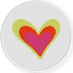 Colorful Heart Illustraition