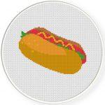 Hotdog Illustraiton