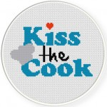 Kiss The Cook Illustration