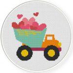 Valentine DumpTruck Illustraiton