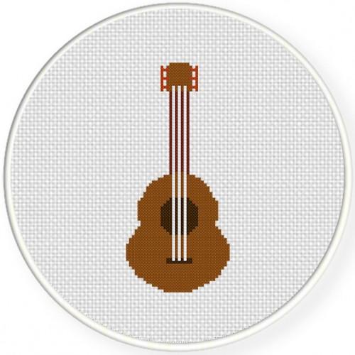 Acoustic Guitar Illustraition