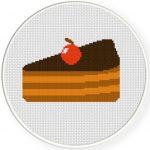 Cake Slice Illustraition