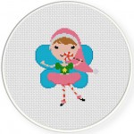 Candy Cane Fairy 7 Illustraition