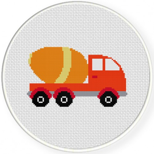 Cement Truck Illustraition