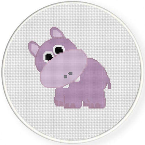 Hippo Illustraition