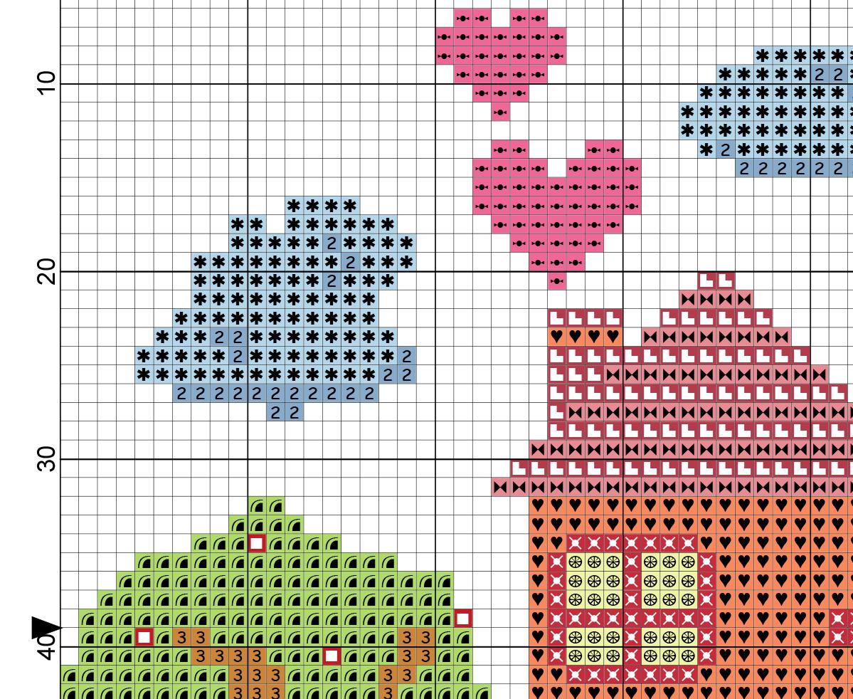 Home Sweet Home Cross Stitch Pattern Daily Cross Stitch