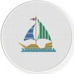 Pirate Ship Illustraition