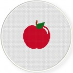 Red Apple Illustraition