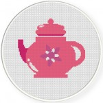 Tea Pot Pink Illustraition