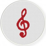 Treble Clef Illustraition