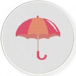 Umbrella Pink Illustraition
