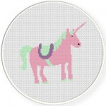 Unicorn Pink Illustraition