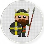 Viking Warrior Illustraition