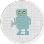 Wind Up Robot Illustraition