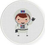 Astronaut Illustraition