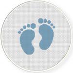 Baby Feet Illustraition
