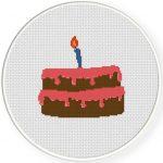 Birthday Cake Illustraition
