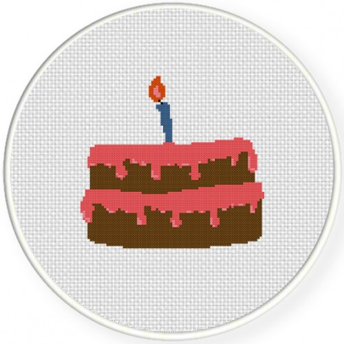 Birthday Cake Illustraition
