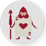 Card Soldier Heart Illustraition