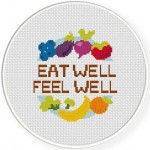 Eat Well Feel Well Illustraition