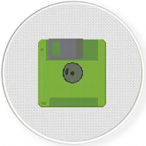 Floppy Disk Illustraition