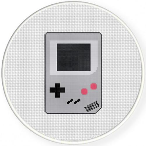 Game Boy Stitch Illustraition