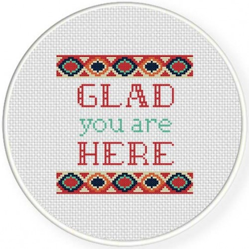 Glad You Are Here Illustraition