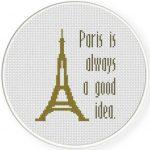 Paris Tower Illustraition