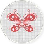 Pink Butterfly Illustraition