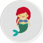 Princess Ariel Illustraition