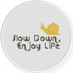 Slow Down Illustraition