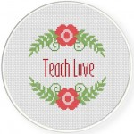 Teach Love Illustraition