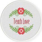 Teach Love Illustraition