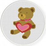 Teddy with Heart Illustraition