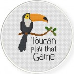 Toucan Play That Game Illustraition