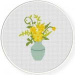 Yellow Flower Bouquet Illustraition