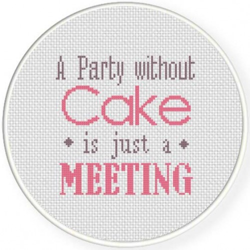 A Party Without A Cake Illustraition