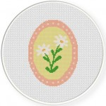 Cameo Daisy Flower Illustration