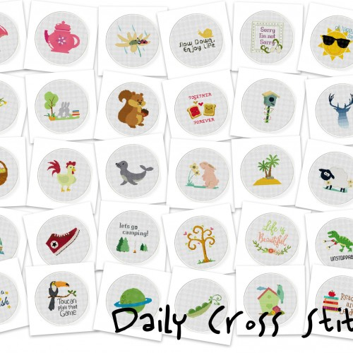 Daily Cross Stitch March