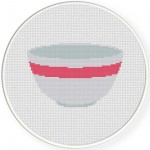 Mixing Bowl Pink Illustration
