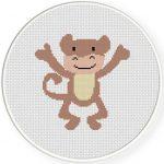 Monkey Joyful Illustraition