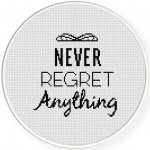 Never Regret Anything Illustration