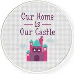 Our Home is Our Castle Illustraition