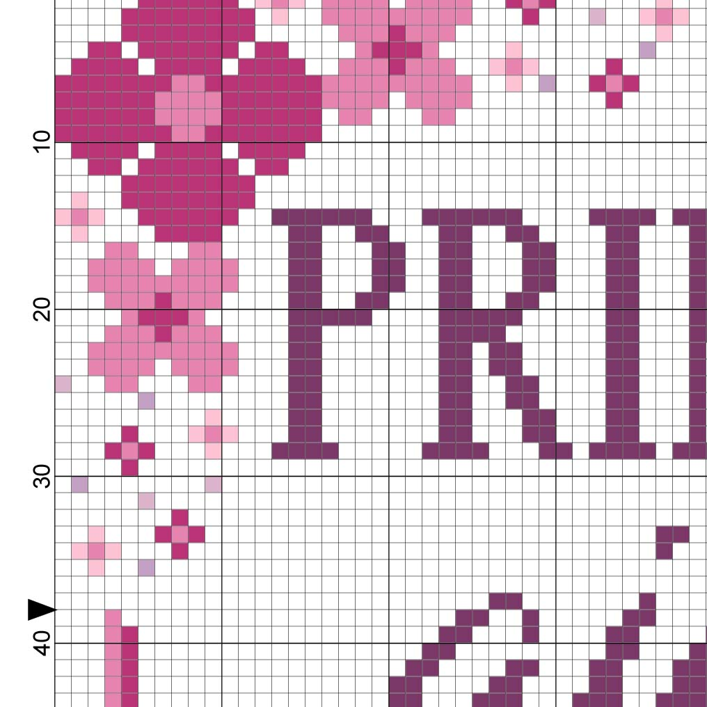 Primpin_ ain_t Easy Cross Stitch Pattern