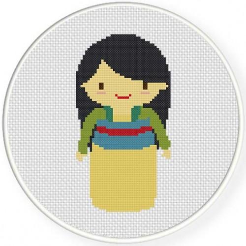 Princess Mulan Illustration