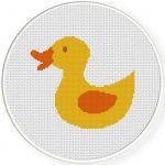 Rubber Duckie Illustraition