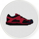 Running Shoes Illustration