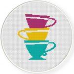 Teacup Stack Illustration