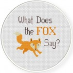 What does the Fox say Illustraition